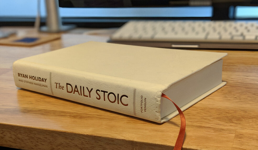 A New Ritual in 2018: The Daily Stoic